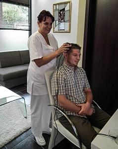 hajgyógyászati vizsgálat